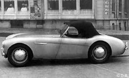 Prototype Austin-Healey 100