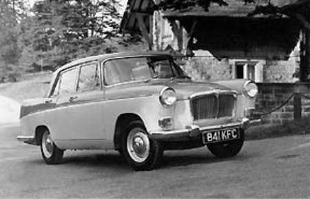 MG Magnette Saloon, 1959