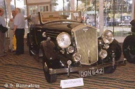 Cabriolet Wolseley Super Six 25, 1937