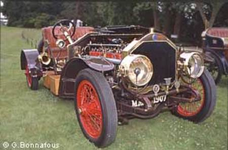 Metallurgique Maybach 1907.