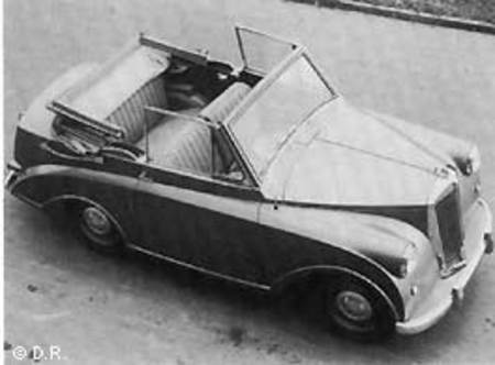 Triumph Mayflower cabriolet
