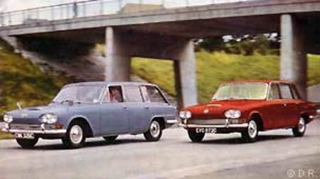 Triumph 2000 break et berline