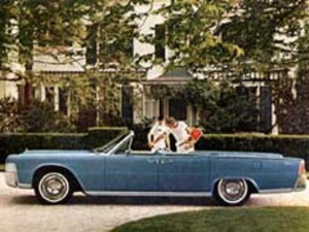 Lincoln Continental Convertible 1965