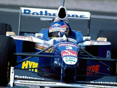 Villeneuve sur Williams à Montreal en 1997