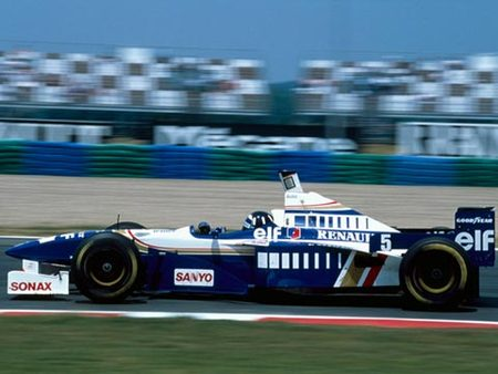 Hill sur Williams, GP de France 96