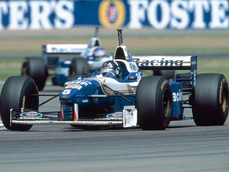 Hill sur Williams, Silverstone en 1996
