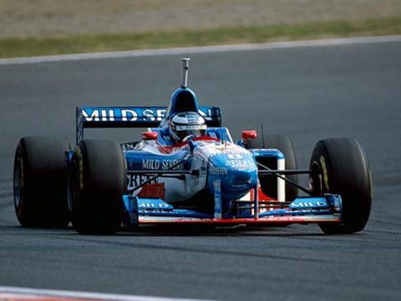 Berger sur Benetton, Japon 1997