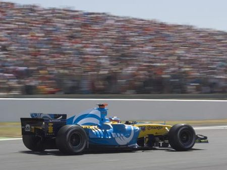 Alonso, GP de France 2005