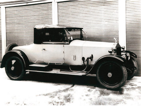 20 HP Cabriolet James Young