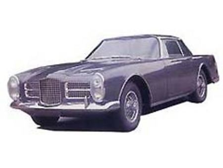 Fiche technique FACEL VEGA FACEL II