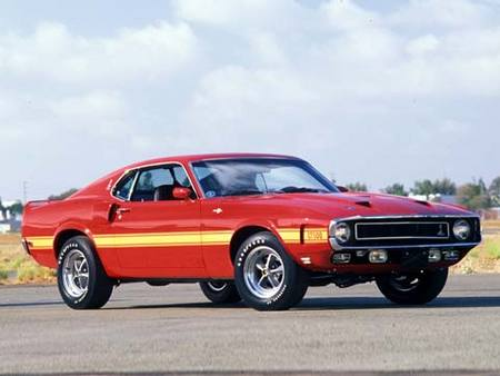 Mustang Shelby GT 500, 1969