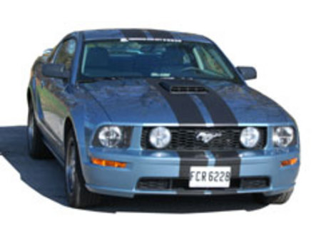 Fiche technique FORD MUSTANG V (2005-14) (Serie 1) GT