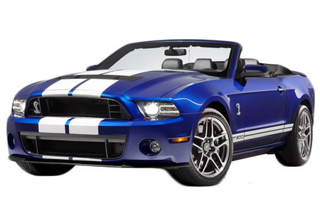 Fiche technique FORD MUSTANG V (2005-14) (Serie 2) Shelby GT500