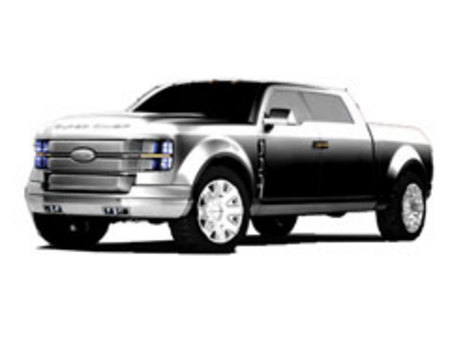 Fiche technique FORD USA F250 SUPER CHIEF Concept