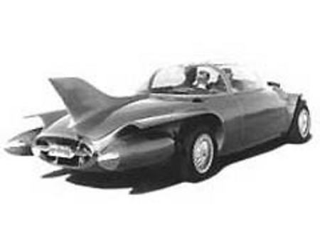 Fiche technique GM FIREBIRD II Concept
