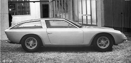 Le prototype 400 GT Flying Star II
