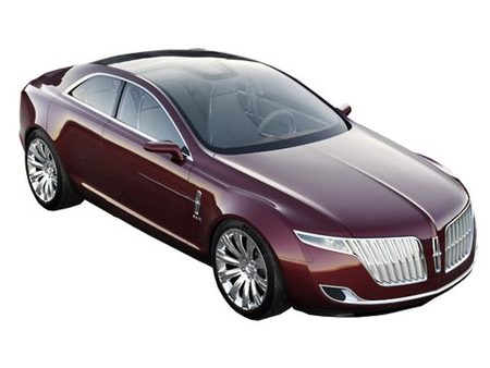 Fiche technique LINCOLN MKR Concept