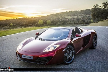 Fiche technique MCLAREN MP4-12C Spider