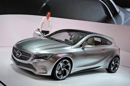 Fiche technique MERCEDES CONCEPT A-CLASS Concept