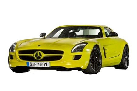 Fiche technique MERCEDES SLS AMG E-Cell