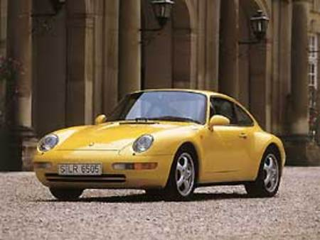 Porsche Carrera Coupé 993