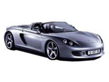 Fiche technique PORSCHE CARRERA GT Concept