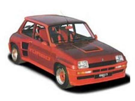 Fiche technique RENAULT R5 TURBO1 1.4