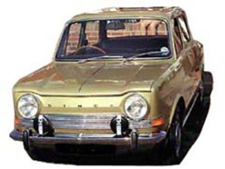 Fiche technique SIMCA 1000 Coupe Bertone
