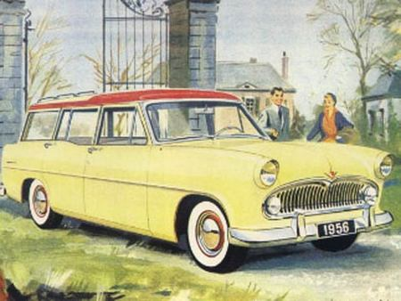 Simca Vedette Marly, 1956