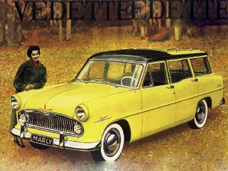 Simca Vedette Marly, 1957