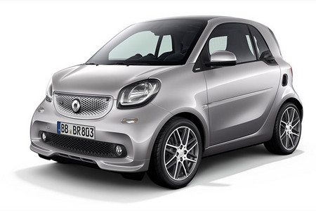 Fiche technique SMART FORTWO (III) Brabus 109 ch
