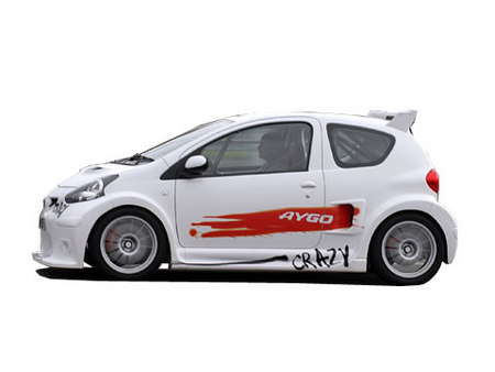 fiche technique toyota aygo crazy concept motorlegend. Black Bedroom Furniture Sets. Home Design Ideas