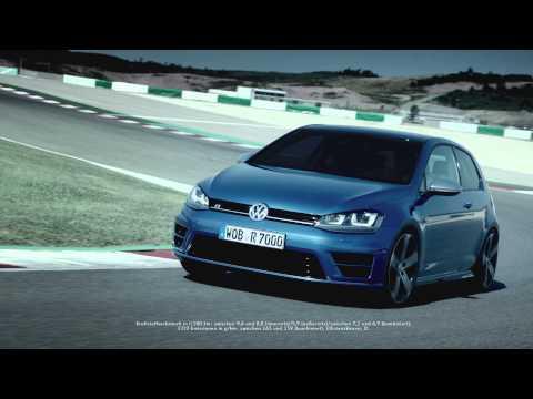 video premi re pub de la nouvelle volkswagen golf r sur motorlegend. Black Bedroom Furniture Sets. Home Design Ideas
