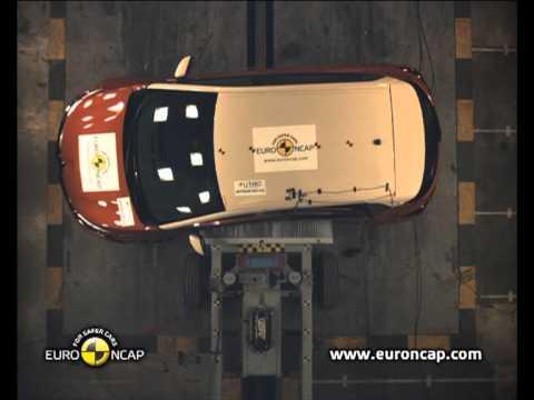 video euro ncap crash test du renault captur 2013 sur motorlegend. Black Bedroom Furniture Sets. Home Design Ideas