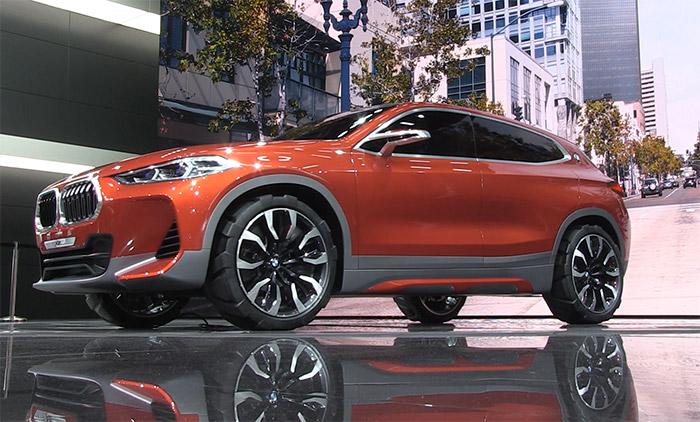 Video BMW X2 Concept