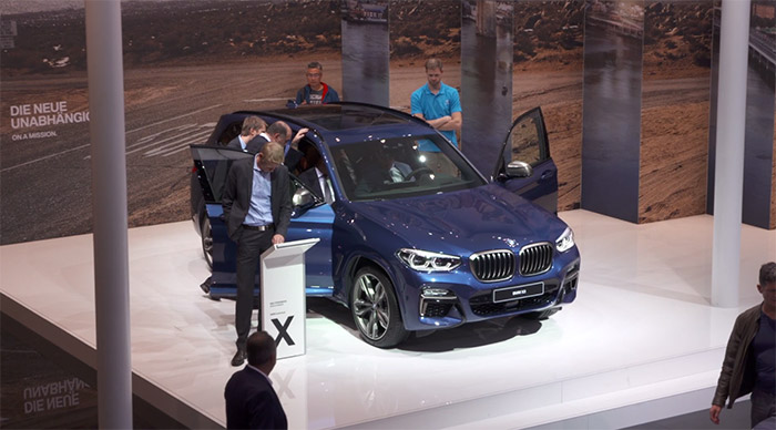 Video BMW X3 2017