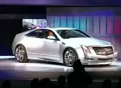 Video Cadillac CTS Coupé Concept