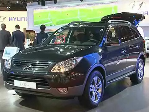 Video Hyundai iX55 au Mondial automobile 2008