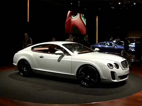 Video Artega GT au Salon de Genève 2009