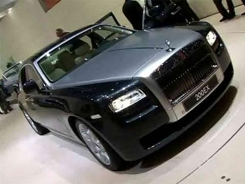 Video Rolls-Royce 200EX