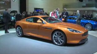 Salon : Aston Martin Virage 2011