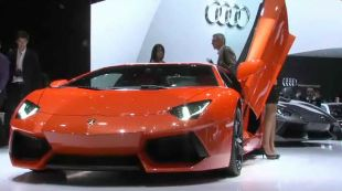 Salon : Lamborghini Aventador