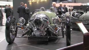 Salon : Morgan Three-Wheeler au Salon de Genève 2011