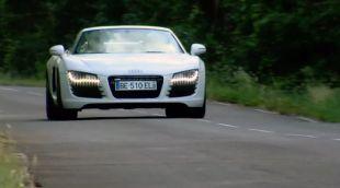 Essai : Audi R8 Spyder V8