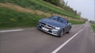 Essai : Mercedes SLK 350 2011