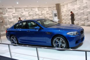 BMW M5 (F10) au Salon de Francfort 2011
