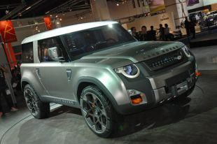 Salon : Land Rover DC100