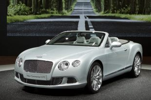 Salon : Bentley Continental GTC
