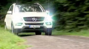 Mercedes ML350 Blue Efficiency