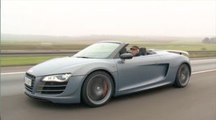 Essai : Audi R8 GT Spyder